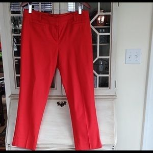 Ann Taylor Red Trouser